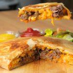 Giant Cheeseburger & Fries Crunchwrap