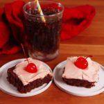 Dr. Pepper Poke Cake