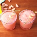 Boozy Sour Watermelon Slushies