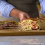 Giant Stuffed Ham & Mozzarella Loaf