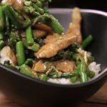 Asparagus and Chicken Stir-fry