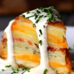 Scalloped Potato Dome