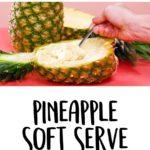 3-Ingredient Pineapple Soft Serve
