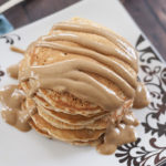 Old-Fashioned Peanut Butter Pancakes