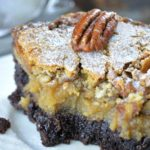 Chocolate Pecan Ooey Gooey Butter Cake