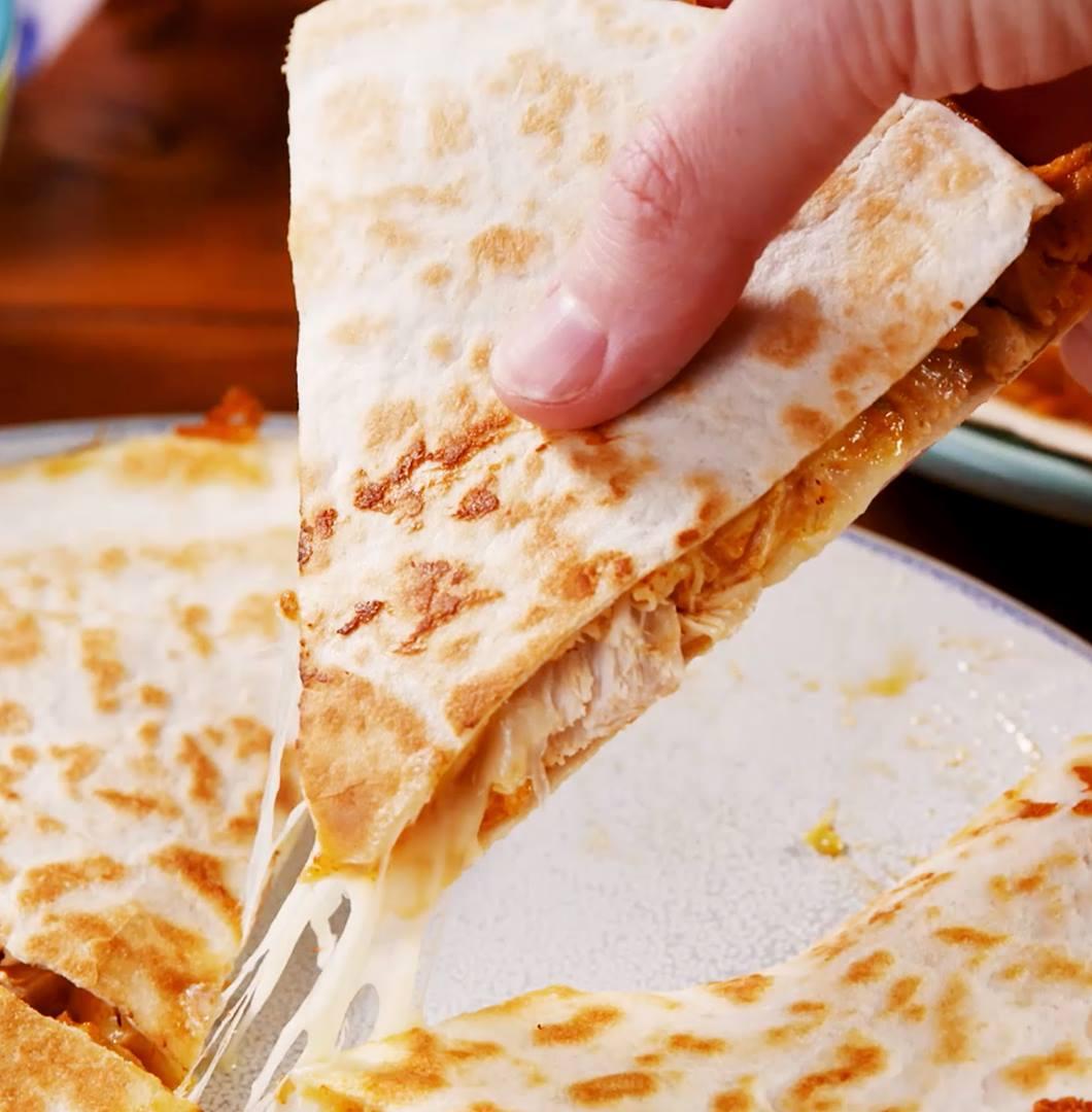 Copycat Taco Bell Quesadilla - The Best Video Recipes for All