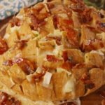 Maple Bacon Brie Pull-Apart Bread