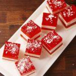 Candy Cane Jell-O Shots