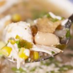 Crock-Pot Salsa Verde Chicken Soup