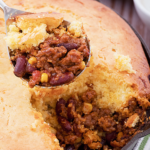 Reese Witherspoon's Corn Bread Chili Pie