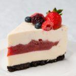 Cherry Pie-Filled Cheesecake