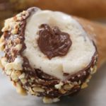 Homemade Chocolate-Covered Ice Cream Cones