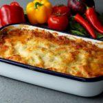 Tuscan Sausage Lasagna