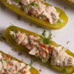 Tuna Salad Pickle Boats