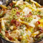 Skillet Cheese Fries