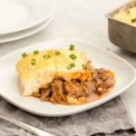 Barbecue Pulled Pork Shepherd's Pie