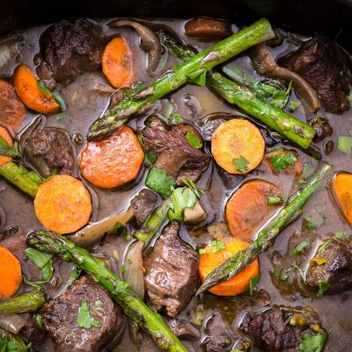 Slow Cooker Spring Beef Bourguignon The Best Video Recipes For All