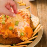 Baked Pimento Cheese Dip in a Bread Bowl