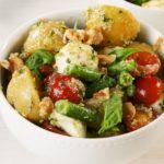 Walnut Pesto Potato Salad