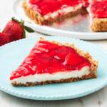 Strawberry-Pretzel Tart
