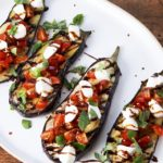 Caprese Eggplant Steaks