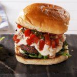 Garlic Lover's Burger