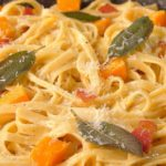 Bacon Butternut Squash Pasta
