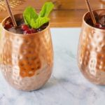 Frozen Cranberry Ginger-Lime Mule