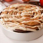 Giant Caramel Apple Cinnamon Roll
