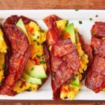 Bacon Weave Breakfast Tacos