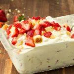 Strawberry Shortcake No-Churn Ice Cream