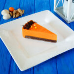 Chocolate-Pumpkin Mousse Cheesecake