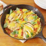 Cheesy Chicken & Corn Skillet
