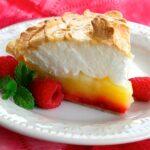 Raspberry Lemon Meringue Pie