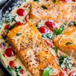 Creamy Tuscan Salmon (30 Minute Dinner!)