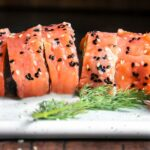 Smoked Salmon Roll Ups (1g Net Carbs!)