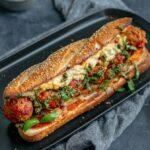 Vegan Chickpea Meatball Subs with Homemade Mozzarella
