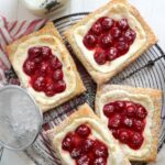 Quick and Easy Cherry Cream Cheese Danishes