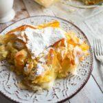 Bougatsa – Crispy Filo Pastry Filled With Warm Custard Cream