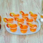 Peach Crown Jello Shots