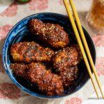 Oven Baked Korean Fried Chicken