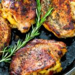 Tempting And Easy Apple And Gouda Stuffed Pork Chops